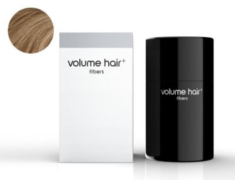 volume hair fibers Haarverdichtungsfasern, hellbraun