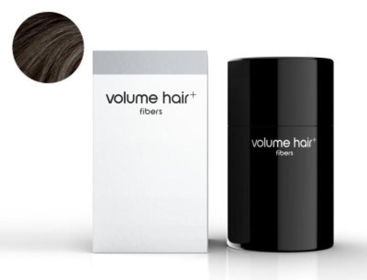 volume hair fibers Haarverdichtungsfasern, dunkelbraun