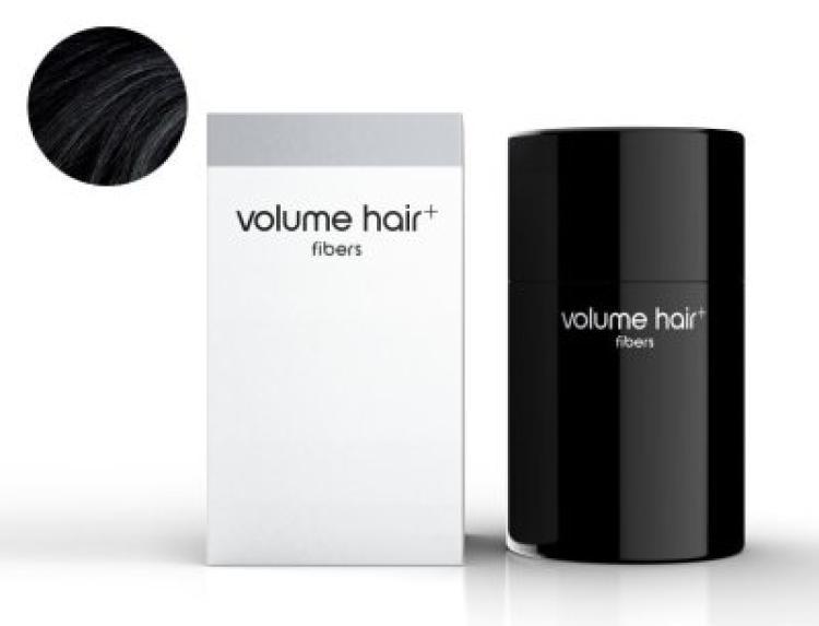 volume hair fibers Haarverdichtungsfasern, schwarz
