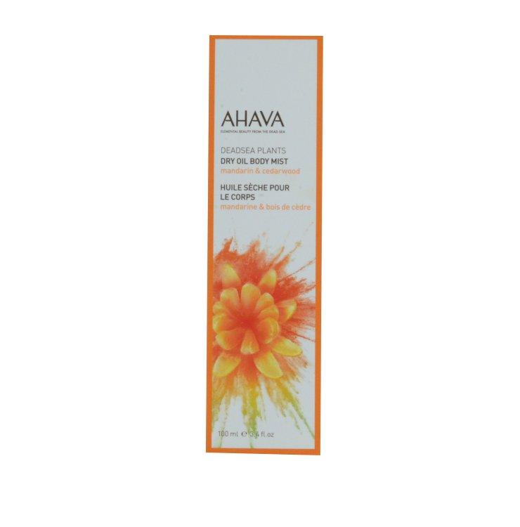 Ahava Dry Oil Body Mist Mandarine & Zendernholz
