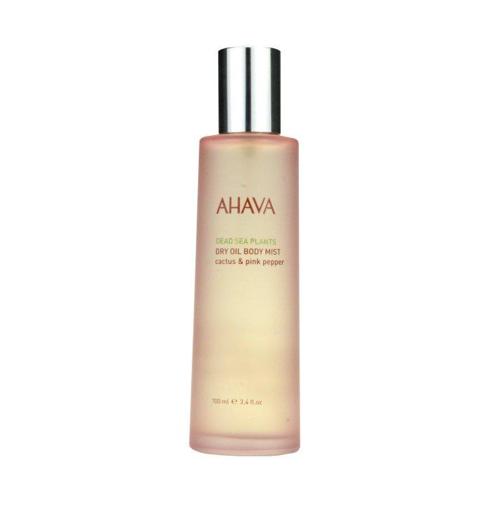Ahava Dry Oil Body Mist Cactus & Pink Pepper