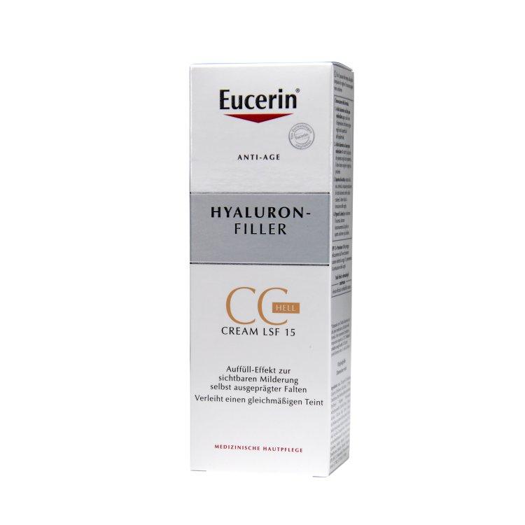Eucerin Hyaluron-Filler CC Cream hell
