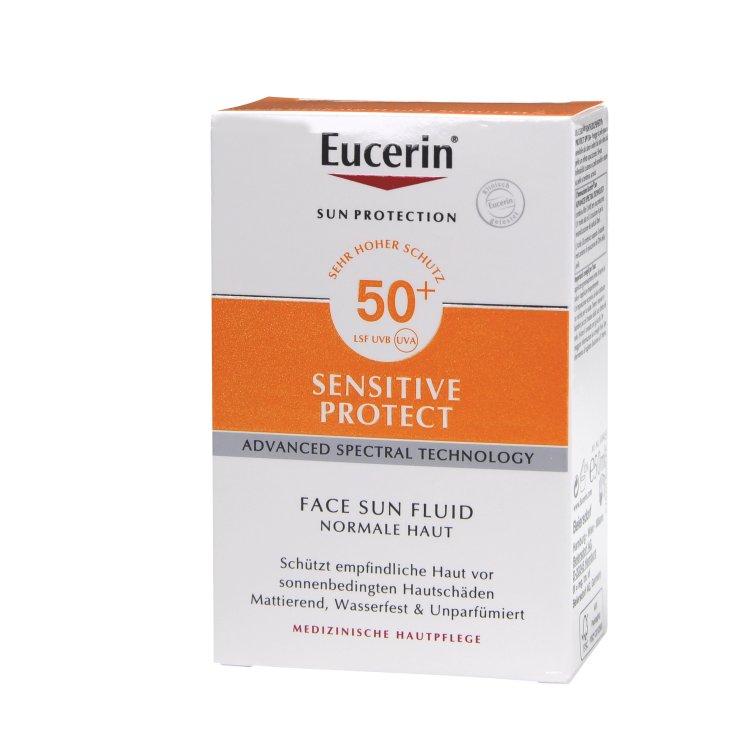 Eucerin Sensitve Protect Face Sun Fluid LSF 50+