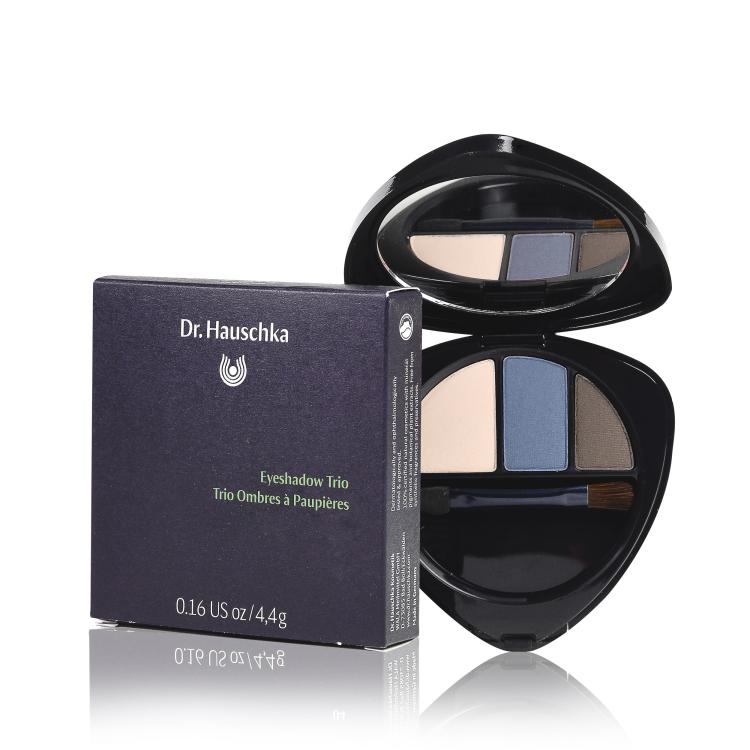 Hauschka Eyeshadow Trio sapphire 01