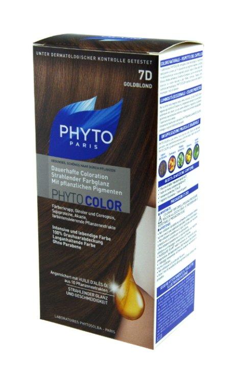 Phytocolor mit pflanzlichen Pigmenten Nr. 7D Goldblond