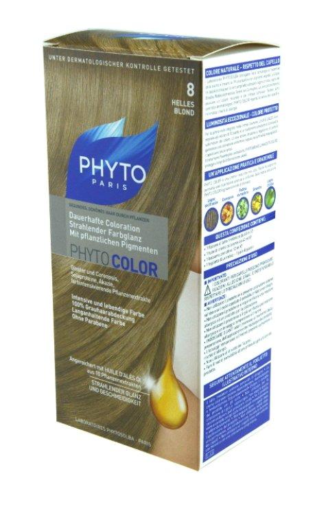 Phytocolor mit pflanzlichen Pigmenten Nr. 8 Helles Blond