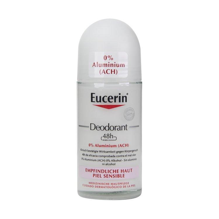 Eucerin Deodorant Roll-on 48 h empfindliche Haut 0% Aluminium
