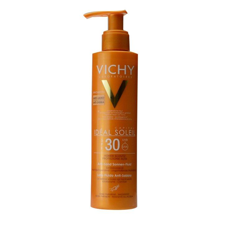 Vichy Ideal Soleil Anti-Sand Sonnen-Fluid LSF30