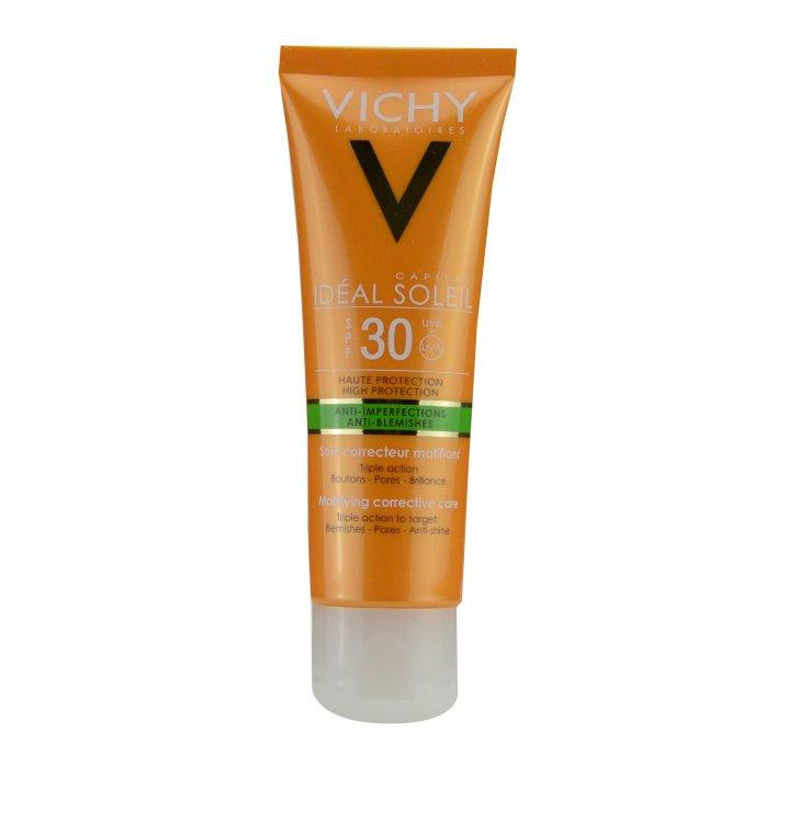 Vichy Ideal Soleil Anti-Unreinheiten LSF 30