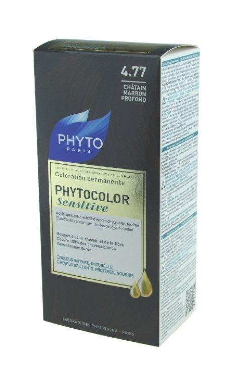 Phytocolor Sensitive Nr. 4.77 Kastanienbraun