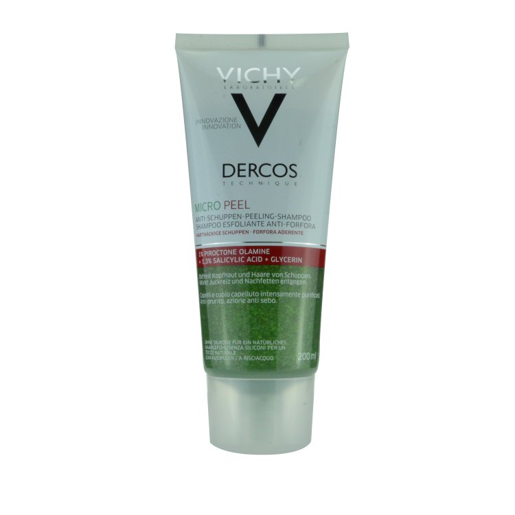 Vichy Dercos Technique Micropeel Anti-Schuppen Shampoo