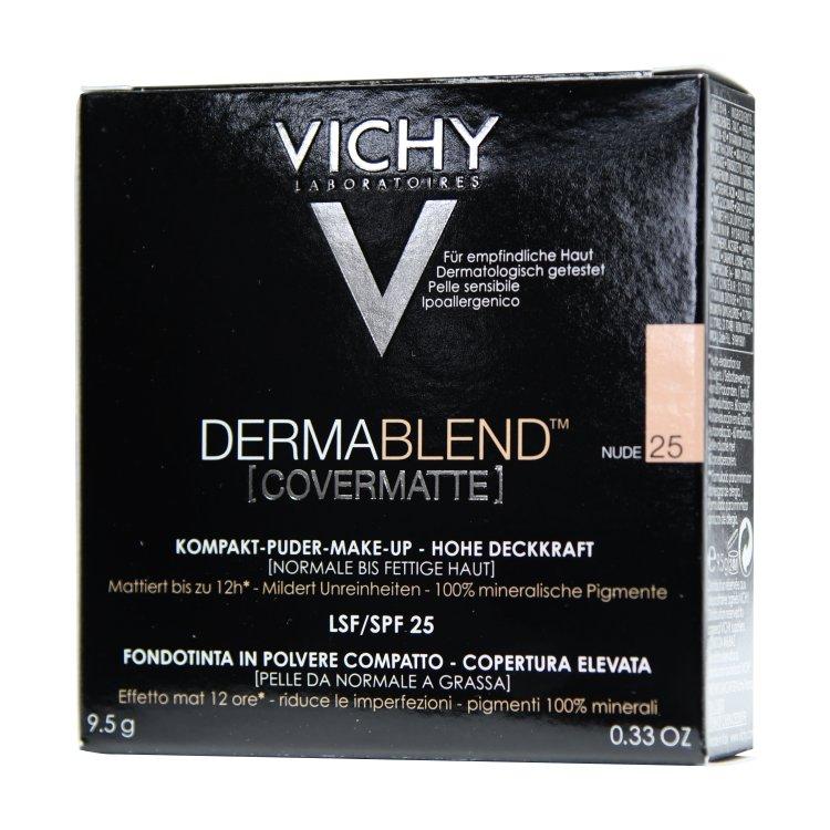 Vichy Derma Blend Kompakt-Puder-Make-up 25 nude