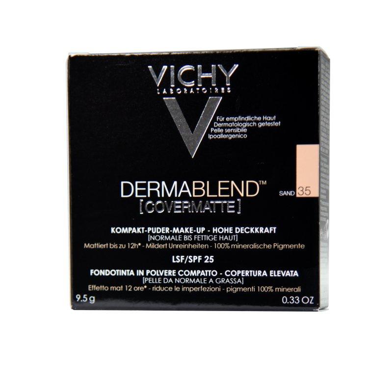 Vichy Derma Blend Covermatte Kompakt-Puder-Make-up 35 sand