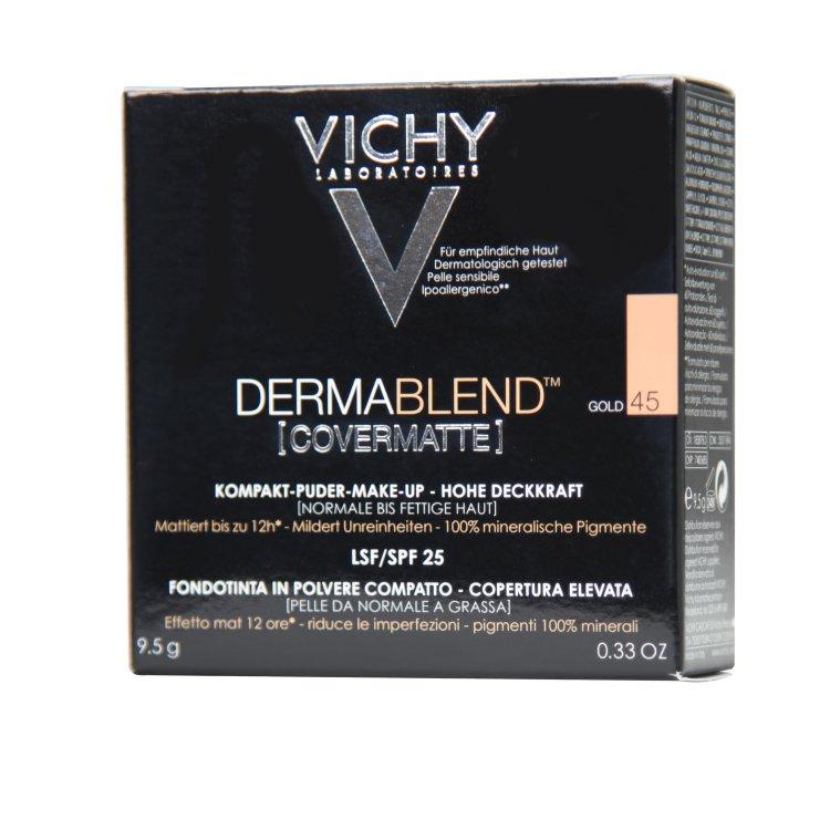 Vichy Derma Blend Covermatte Kompakt-Puder-Make-up 45 gold