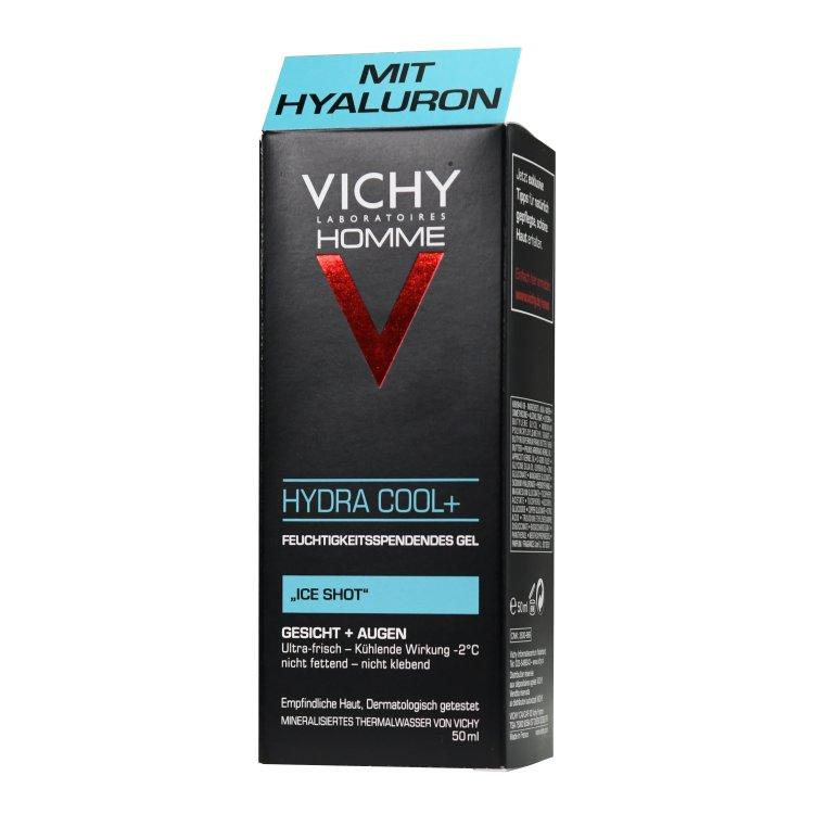 Vichy Homme Hydra Coool+  feuchtigkeitsspendendes Gel