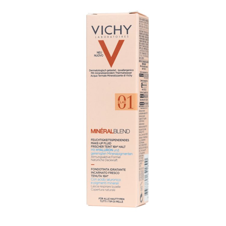 Vichy Mineral Blend feuchtigkeitsspendendes Make-up 01 clay