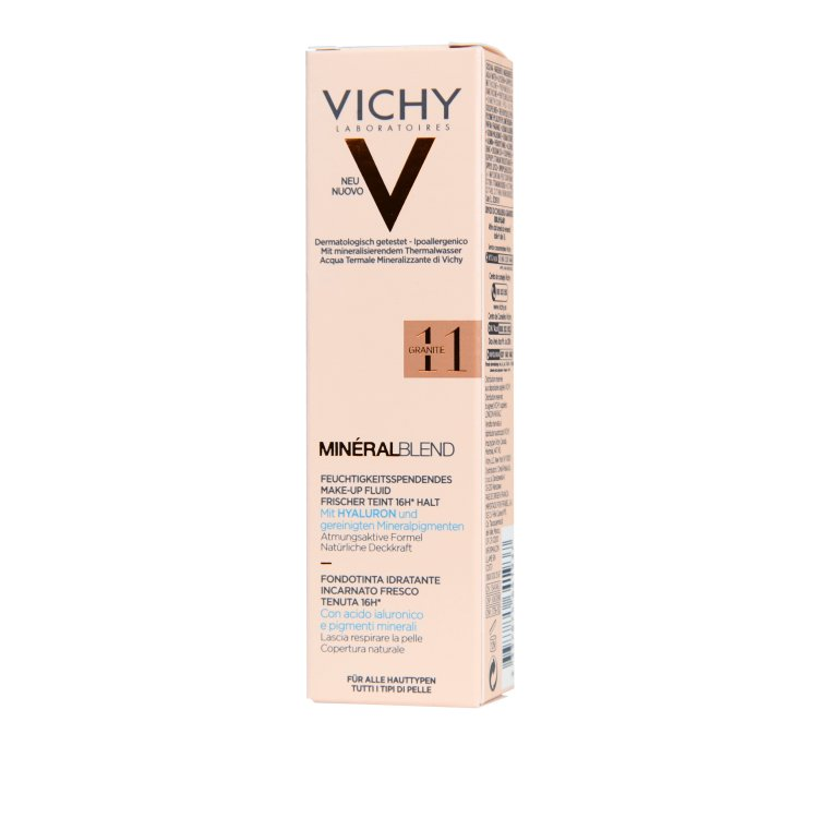 Vichy Mineral Blend feuchtigkeitsspendendes Make-up 11 granite