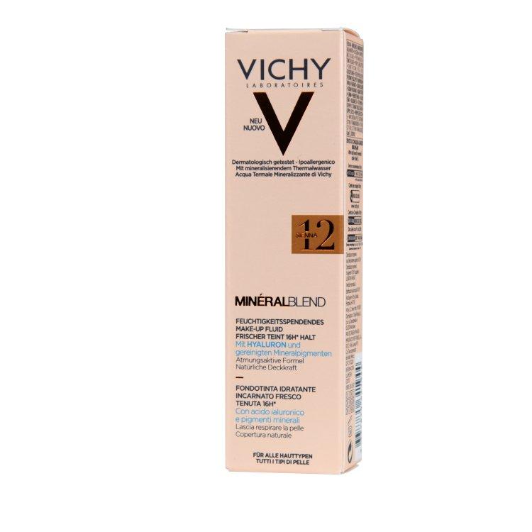 Vichy Mineral Blend feuchtigkeitsspendendes Make-up 12 sienna