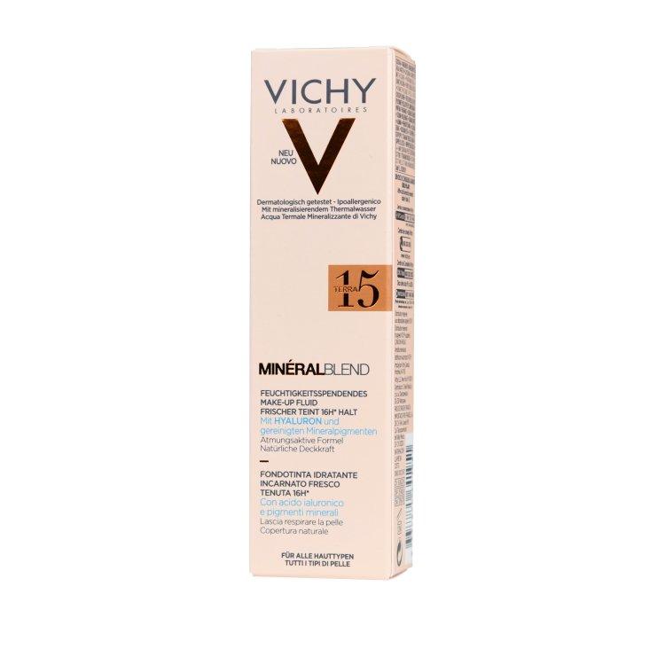 Vichy Mineral Blend feuchtigkeitsspendendes Make-up 15 terra