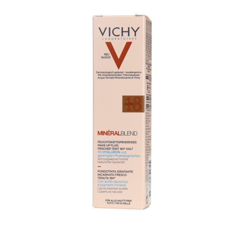 Vichy Mineral Blend feuchtigkeitsspendendes Make-up 18 copper