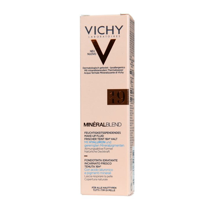 Vichy Mineral Blend feuchtigkeitsspendendes Make-up 19 umber