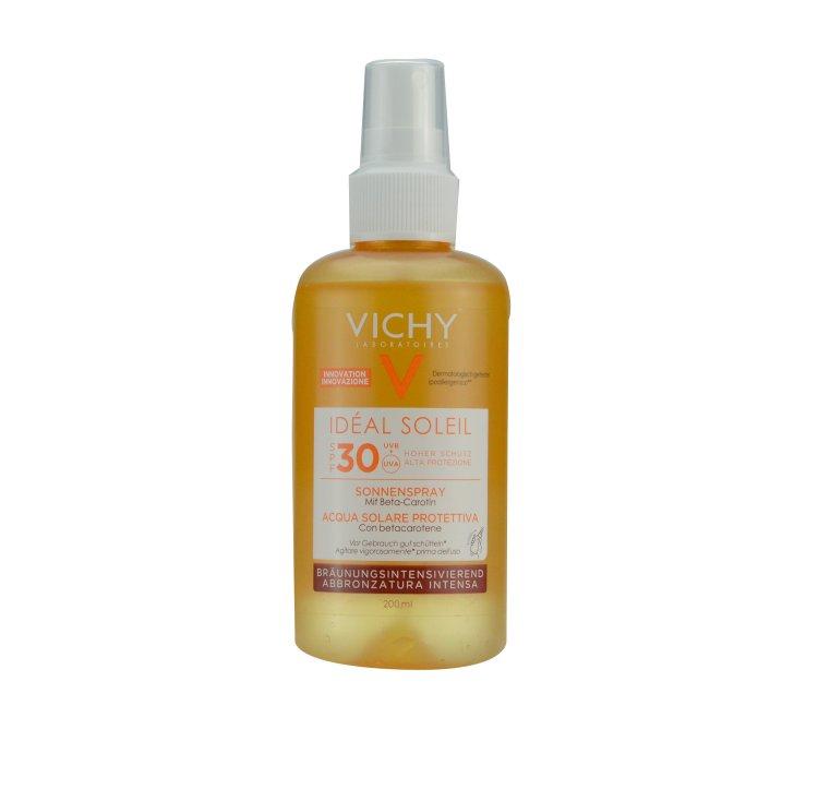Vichy Ideal Soleil Sonnenspray mit Beta-Carotin LSF 30
