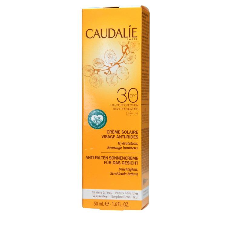 Caudalie Anti-Falten Sonnencreme für das Gesicht LSF 30