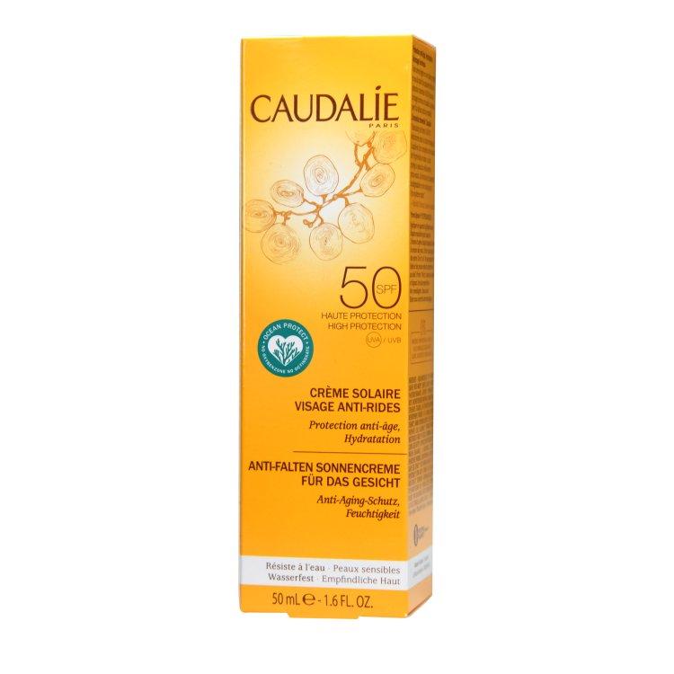 Caudalie Anti-Falten Sonnencreme für das Gesicht LSF 50
