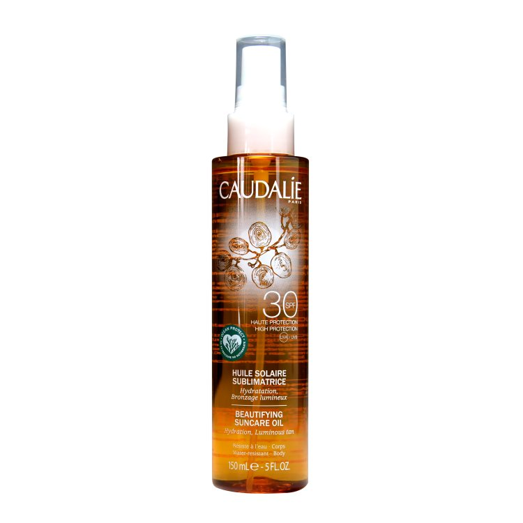 Caudalie Sonnenöl für eine schön gebräunte Haut LSF 30