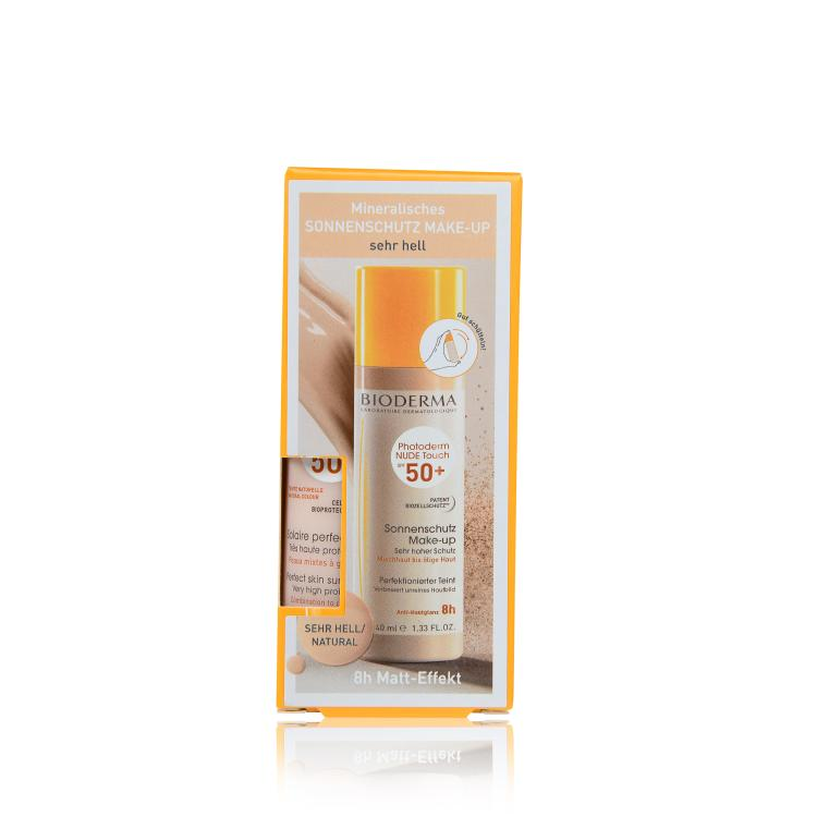 Bioderma Photoderm Nude Touch SPF 50+ sehr hell