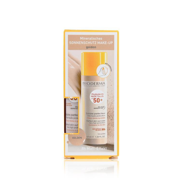 Bioderma Photoderm Nude Touch SPF 50+ golden