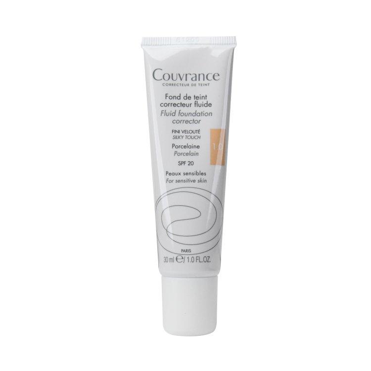Avene Couvrance korrigierendes Make-up-Fluid 1.0 Porzellan