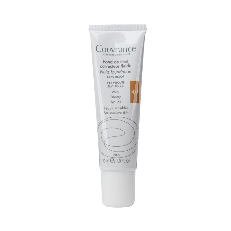 Avene Couvrance korrigierendes Make-up-Fluid 4.0 Honig