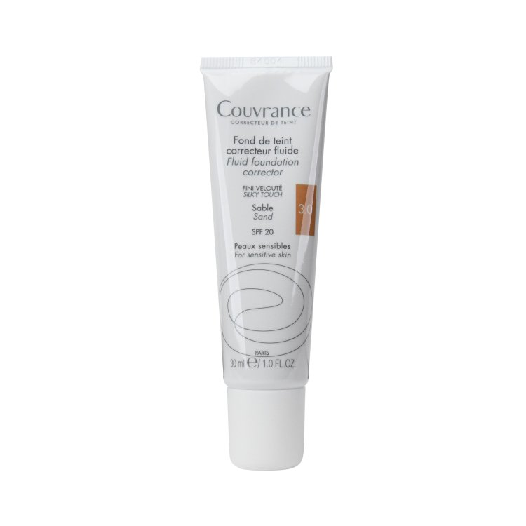 Avene Couvrance korrigierendes Make-up-Fluid 3.0 Sand