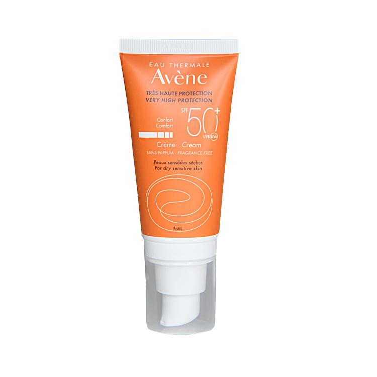 Avene Tres Haute Protection Sonnencreme ohne Duftstoffe SPF 50+