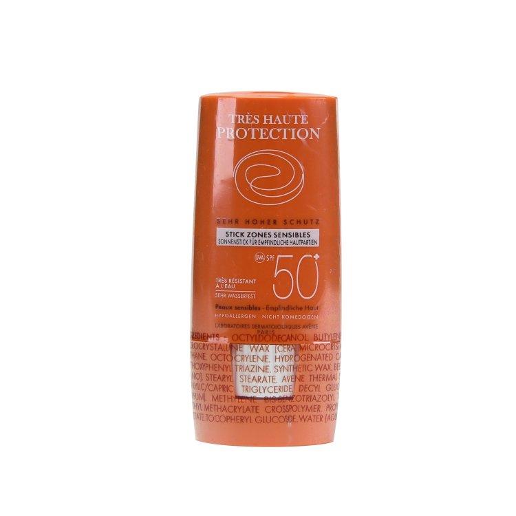 Avene Tres Haute Protection Sonnenstick für empfindliche Hautpartien SPF 50+