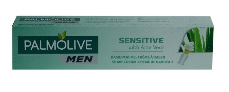 Palmolive Men Rasiercreme Sensitive Aloe Vera