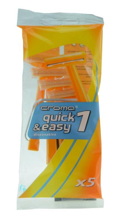 Croma quick&easy1 Einwegrasierer 5 St.
