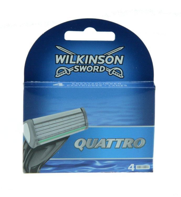 Wilkinson Quattro Rasierklingen
