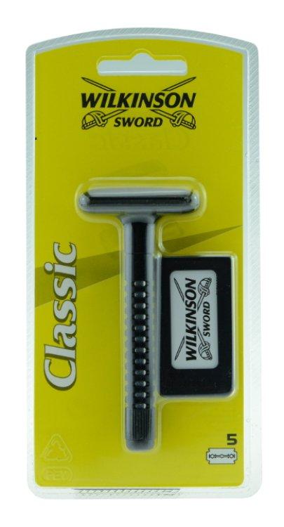 Wilkinson Sword Classic Rasierer + Ersatzklingen