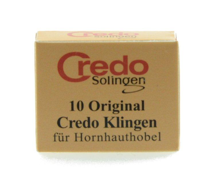 Credo Solingen 10 original Hornhauthobel Klingen