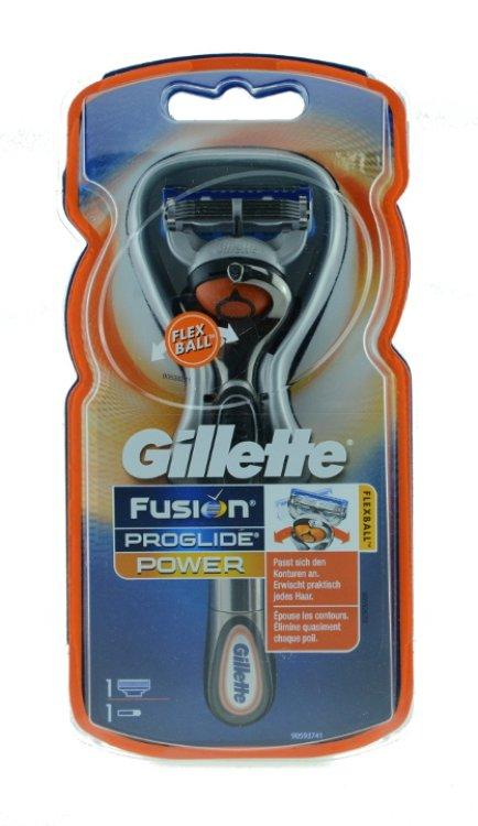 Gillette Fusion Pro Glide Rasierer Flexball Power