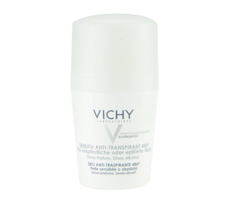 VICHY Deo Roll-on Sensitiv Anti-Transpirant 48h für epilierte Haut