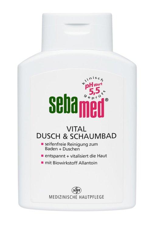 Sebamed vital Dusch und Schaumbad
