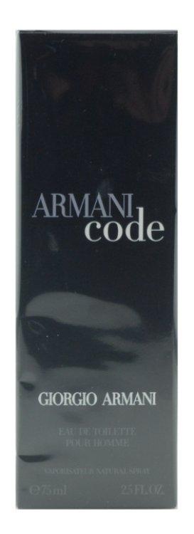 Giorgio Armani Code pour Homme Eau de Toilette Vaporisateur