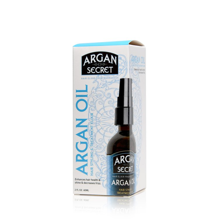 Argan Secret Argan Oil Hair Styling & Treatment Elixir