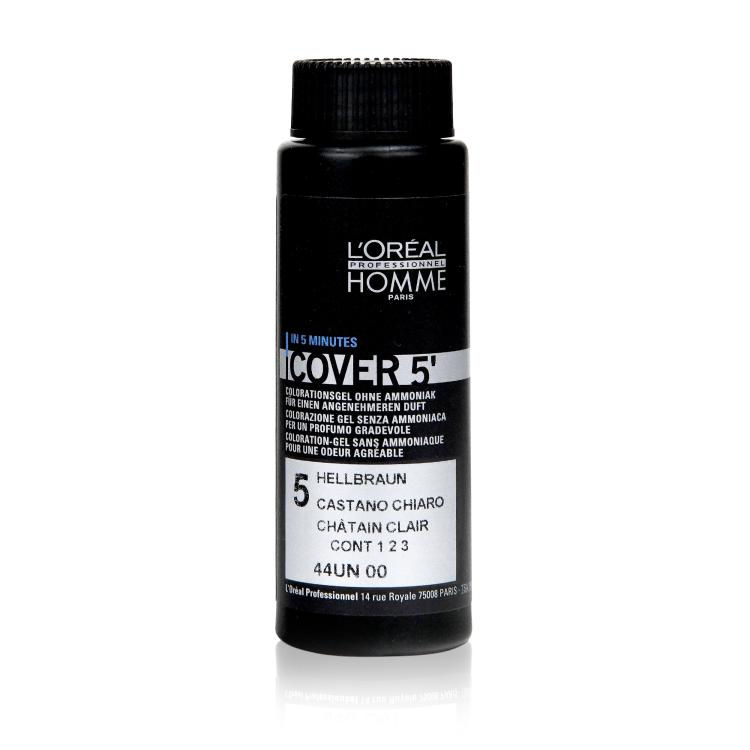 Loreal Homme Cover 5 No 5 Hellbraun (3x 50ml)