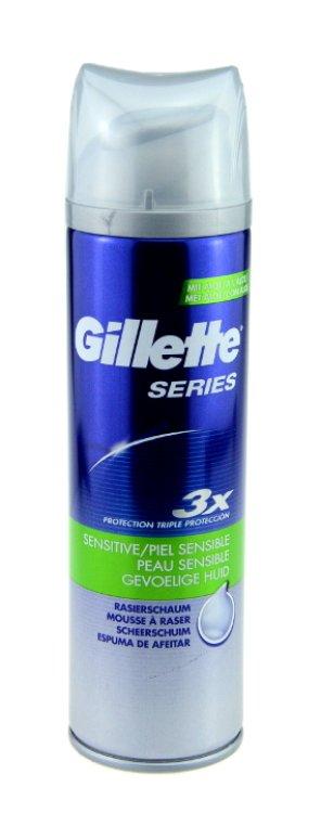 Gillette Series  Rasierschaum sensitive