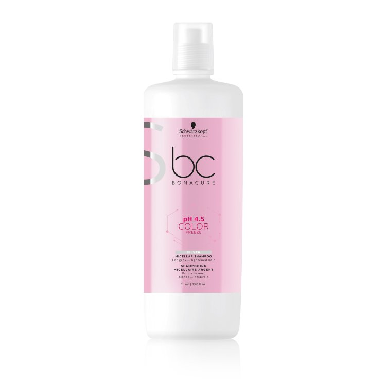 bc Bonacure pH 4.5 Color Freeze Silver Micellar Shampoo