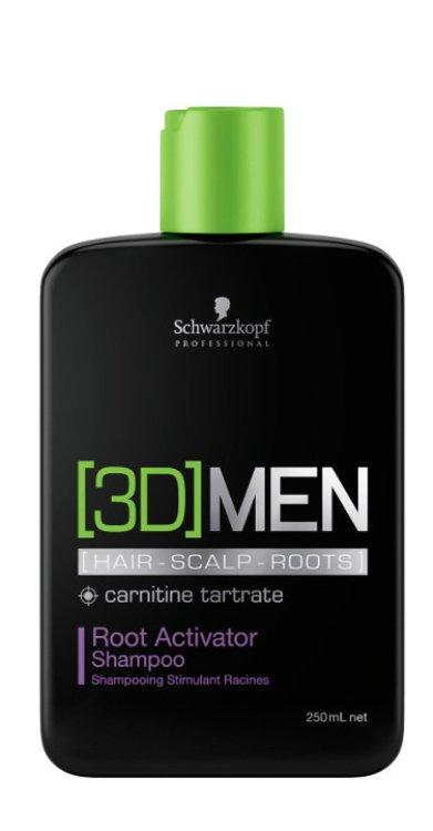 3D Men Root Activator Shampoo